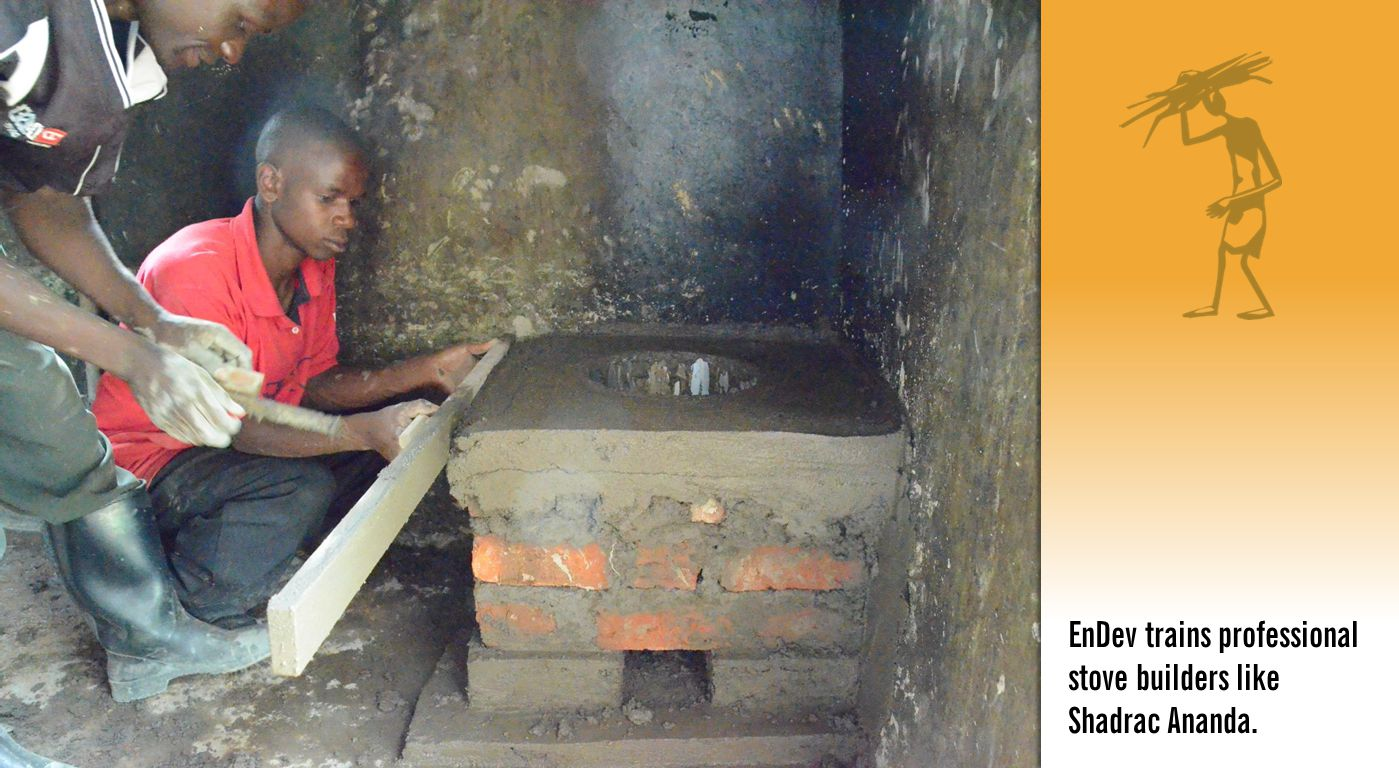EnDev trains professional stove builders like