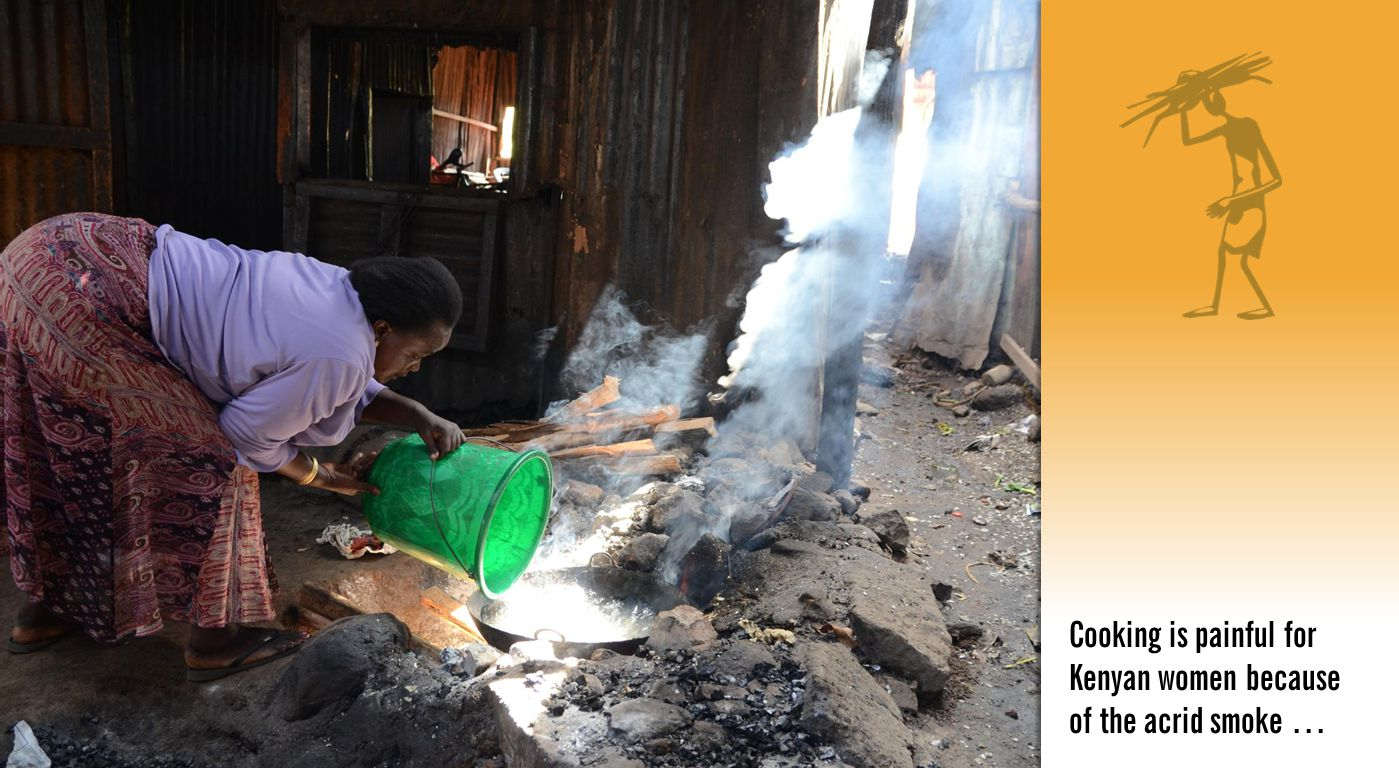 Cooking is painful for Kenyan women because