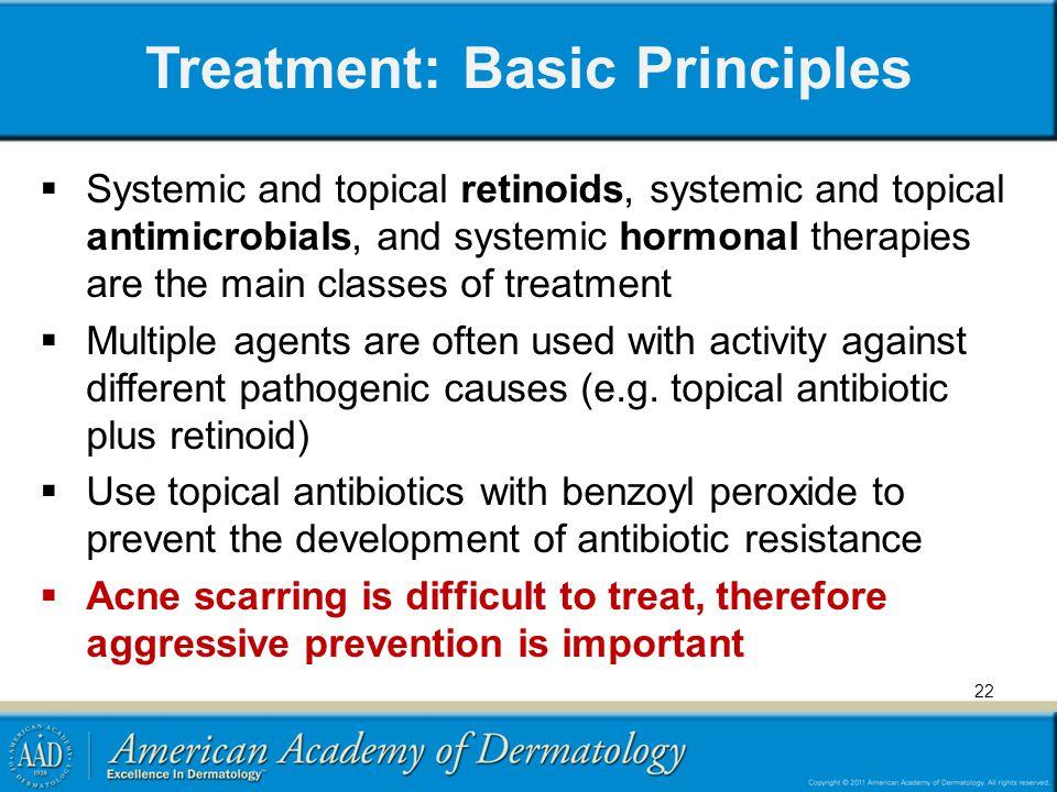 Treatment: Basic Principles