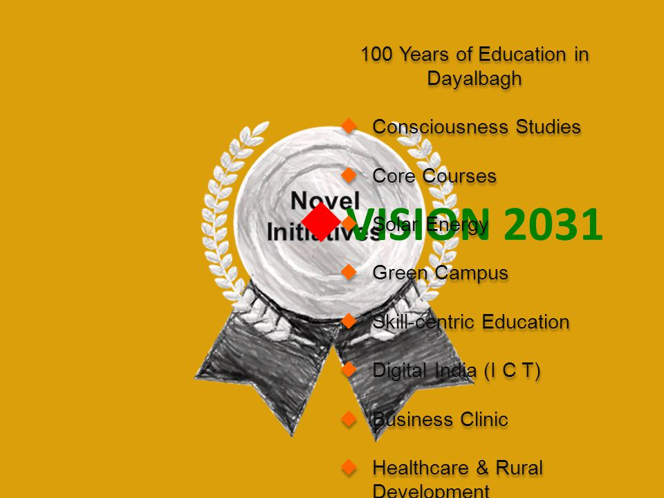 100 Years of Education in Dayalbagh