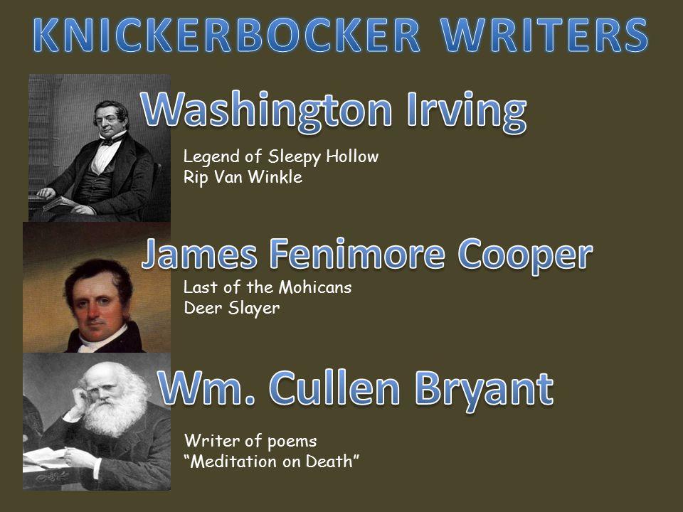 KNICKERBOCKER WRITERS