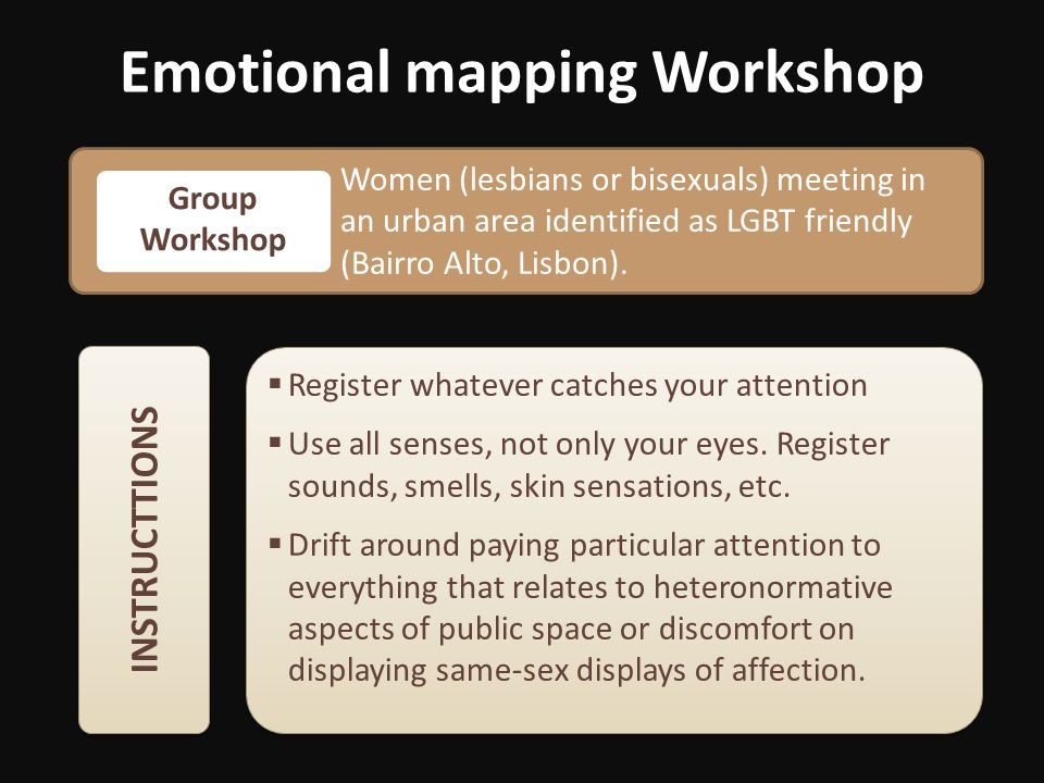 Emotional mapping Workshop