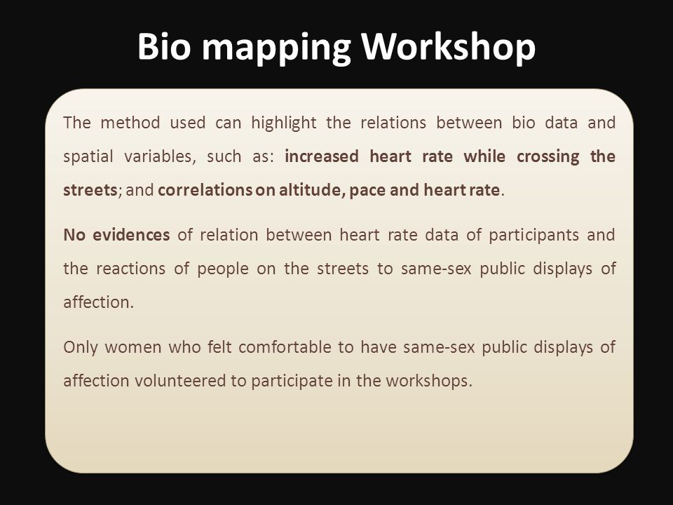 Bio mapping Workshop