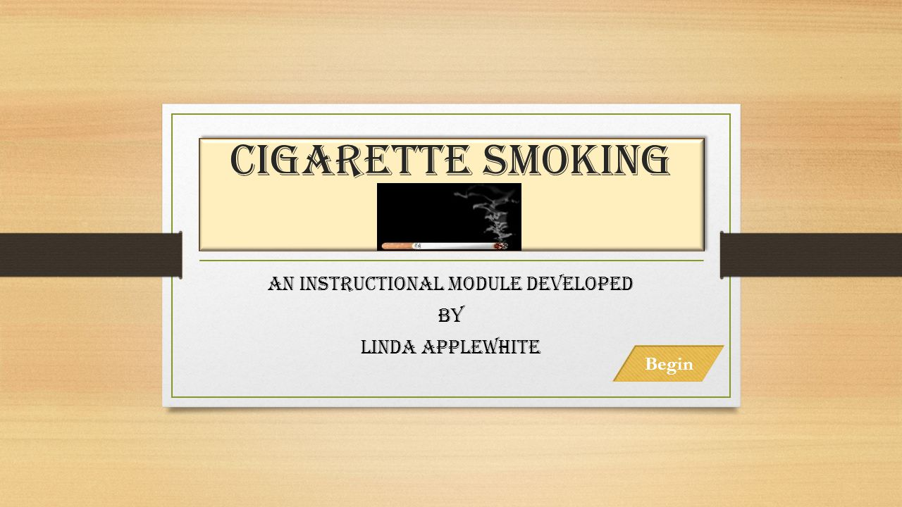 An Instructional module developed By Linda applewhite