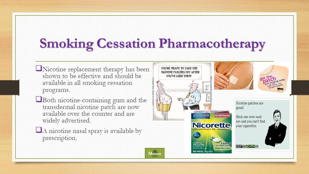 Smoking Cessation Pharmacotherapy