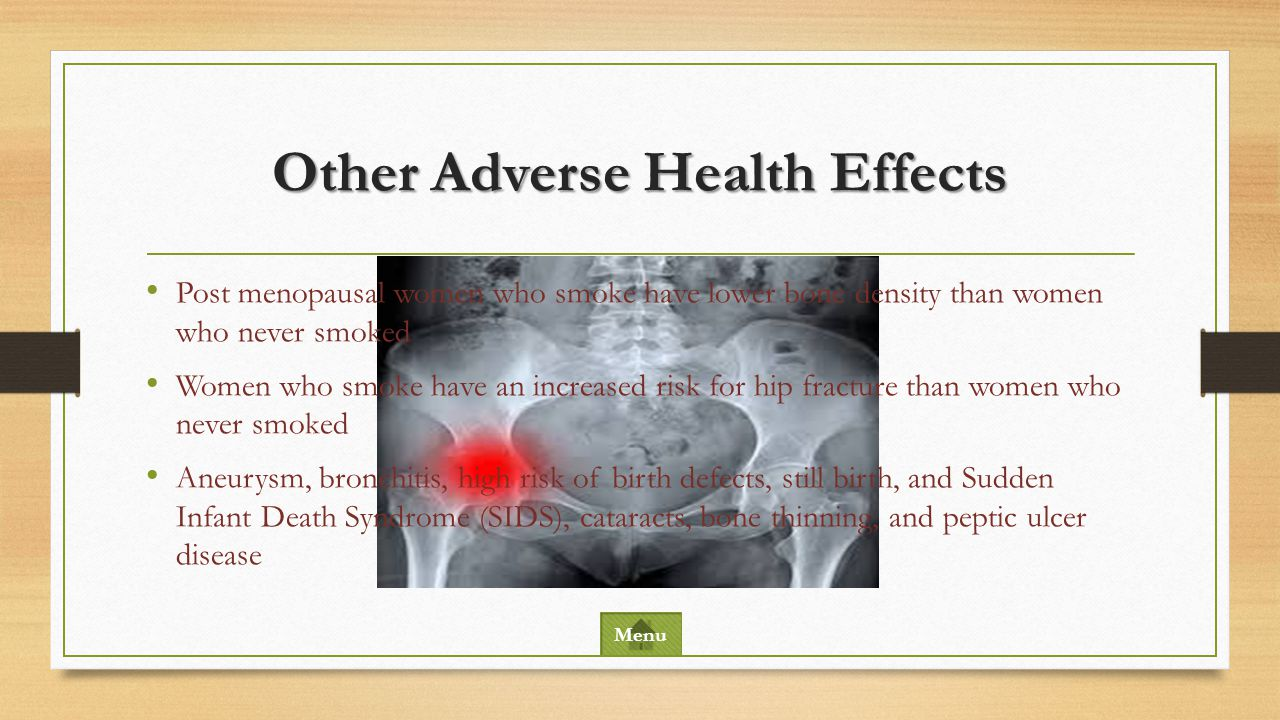 Other Adverse Health Effects