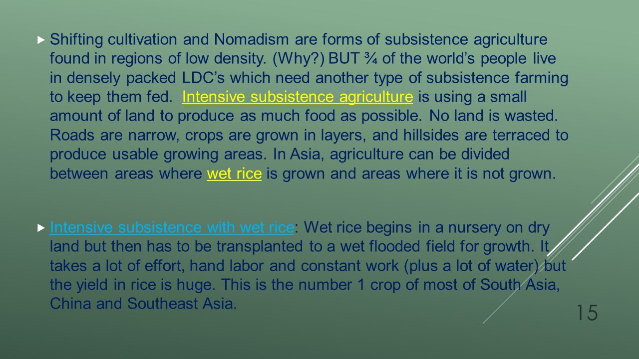 Key topic/chapter 10 Agricultural geography Key terms: - ppt download