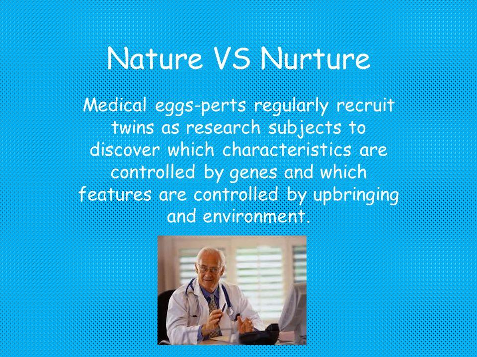 Intelligence Nature Vs Nurture Ppt