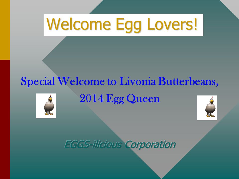 Special Welcome to Livonia Butterbeans,