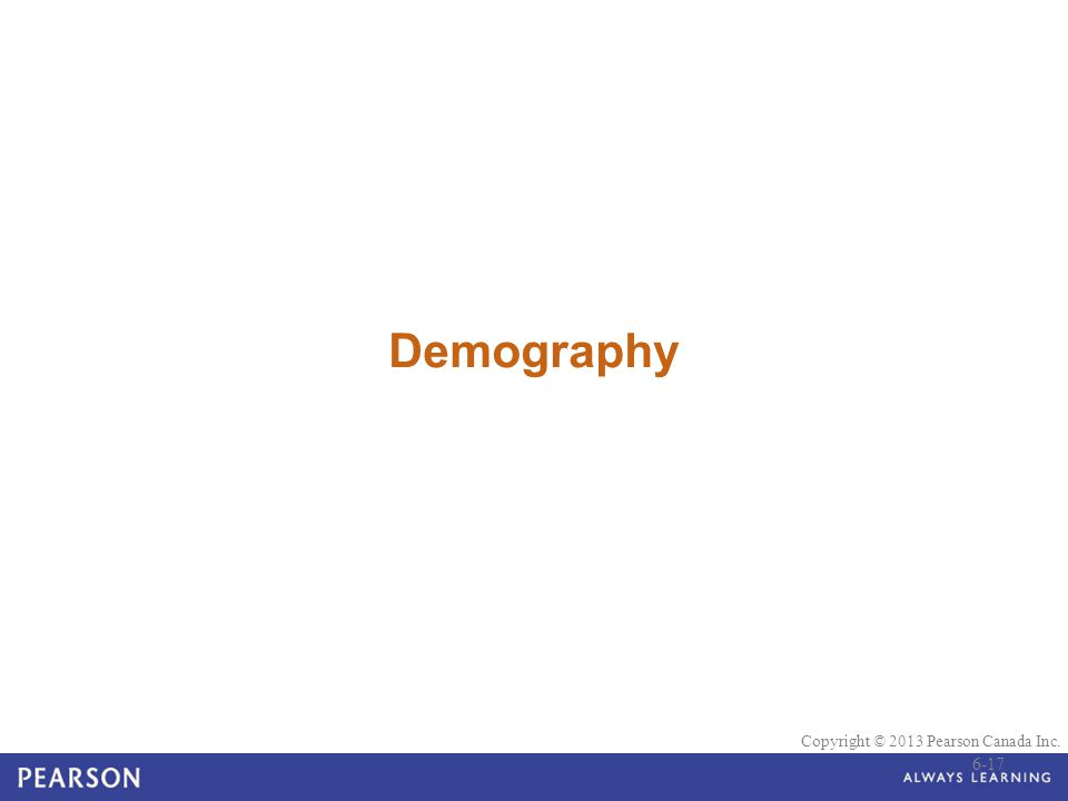 Demography 6-17