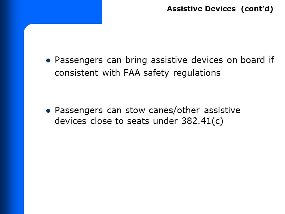 DOT Guidance on Service Animals FAA document TAM Carrier policies