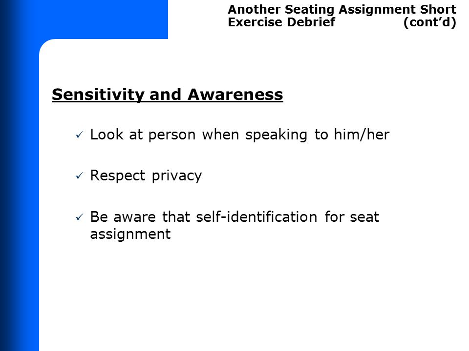 Priority Seating Method Short