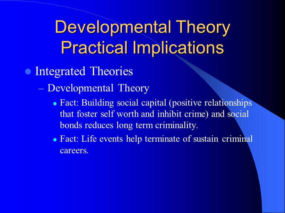 Developmental Theory Practical Implications