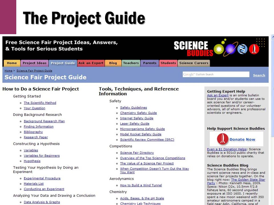 The Project Guide
