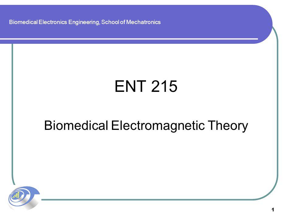 Biomedical Electronics Engineering, School of Mechatronics