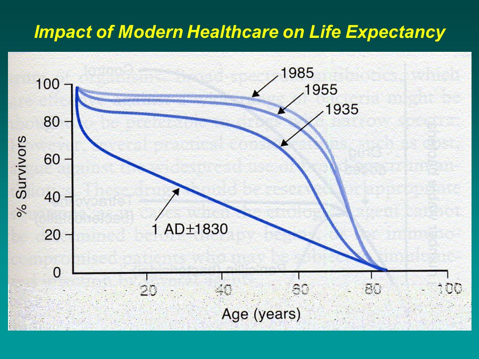 Impact of Modern Healthcare on Life Expectancy