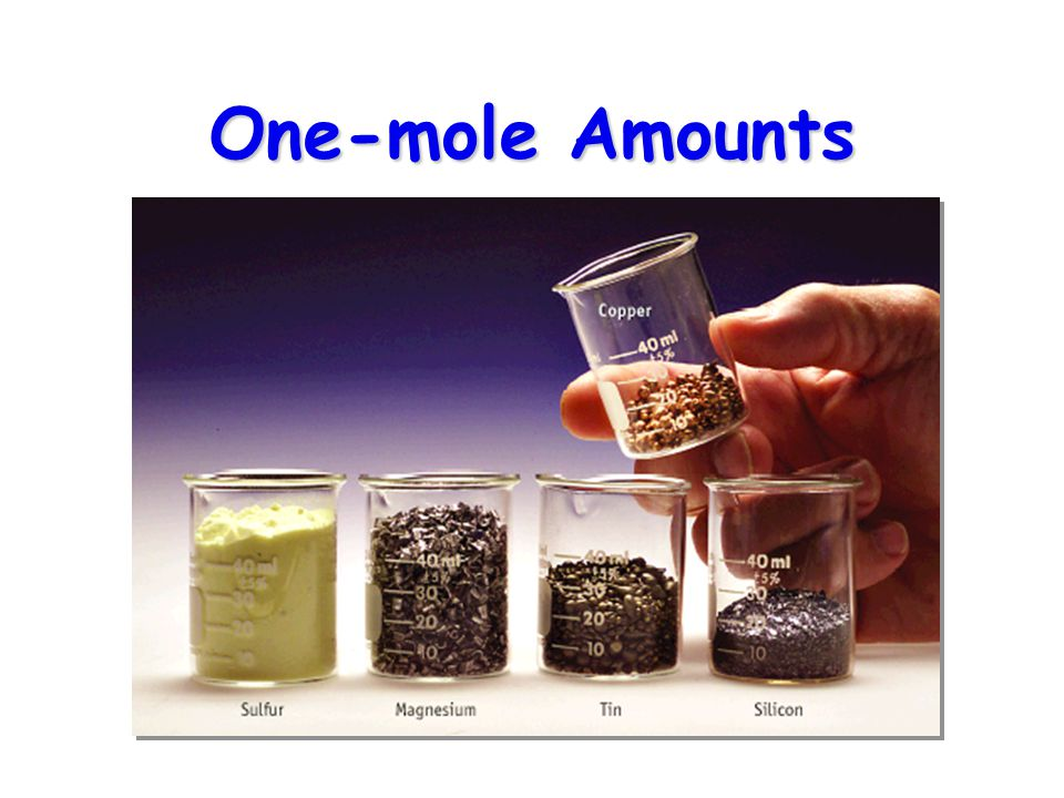One-mole Amounts