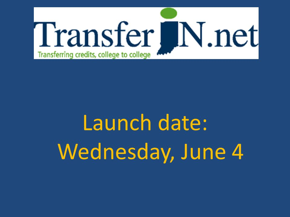Launch date: Wednesday, June 4