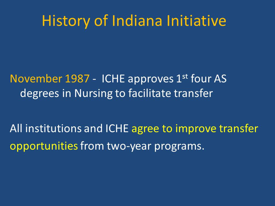 History of Indiana Initiative