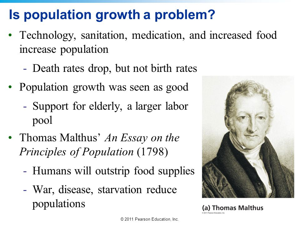 Is population growth a problem