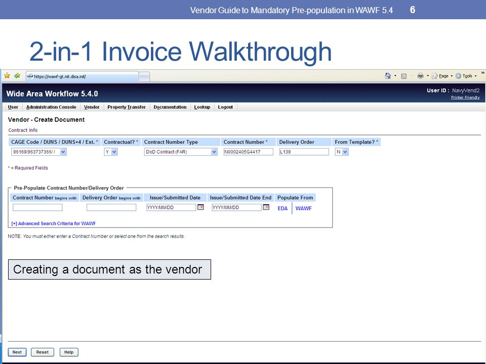 2-in-1 Invoice Walkthrough