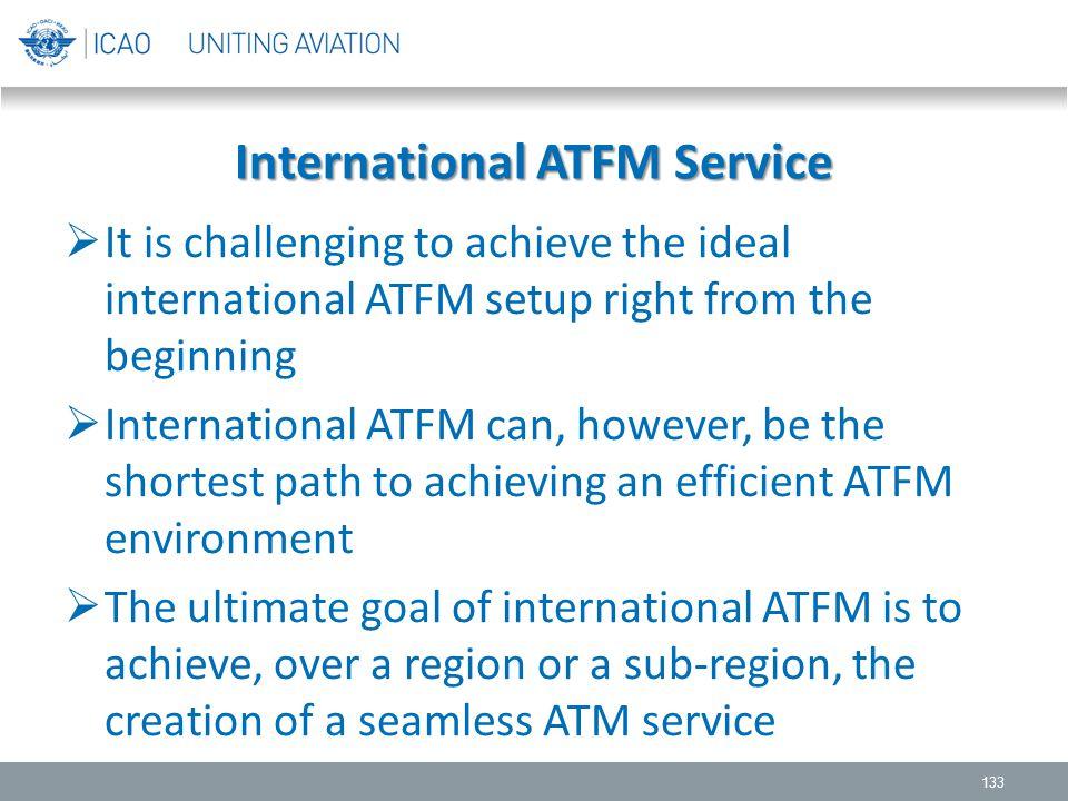 International ATFM Service