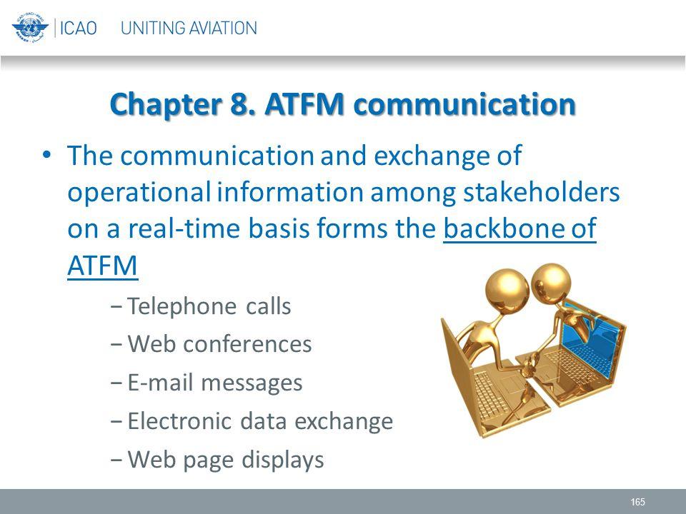 Chapter 8. ATFM communication