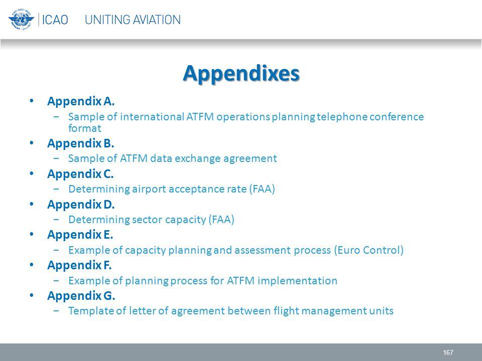 Appendixes Appendix A. Appendix B. Appendix C. Appendix D. Appendix E.