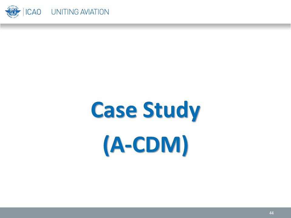 Case Study (A-CDM)