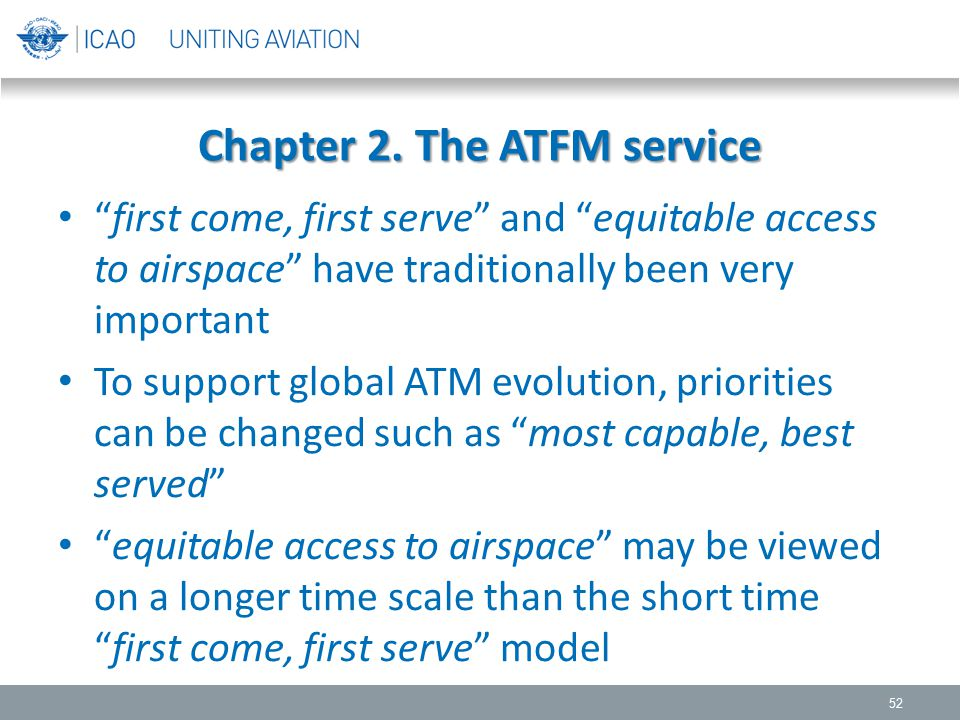 Chapter 2. The ATFM service