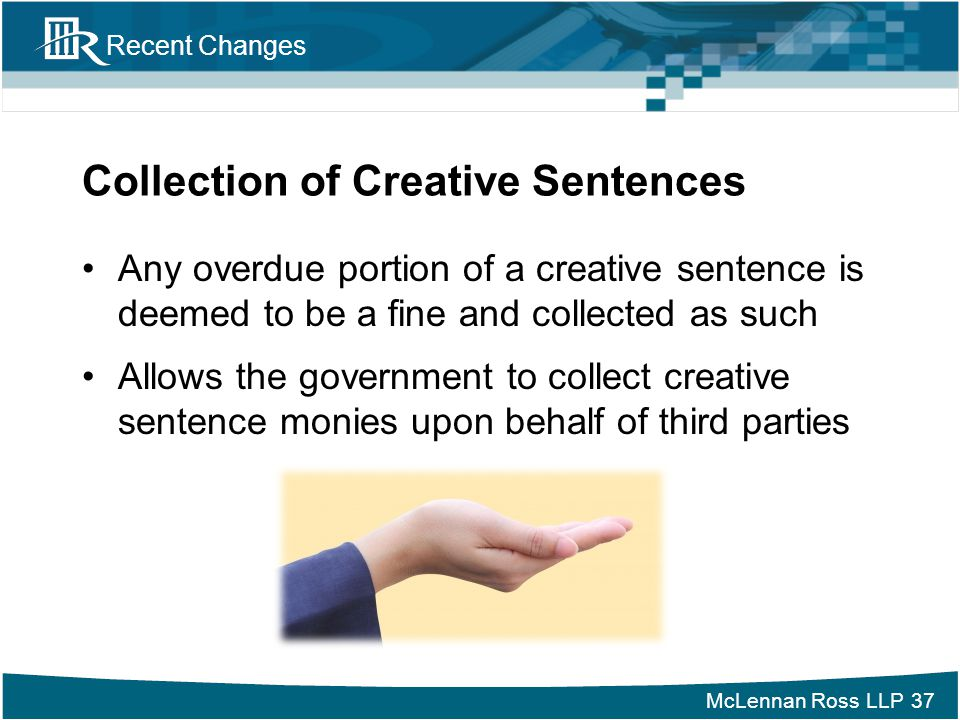 Collection of Creative Sentences