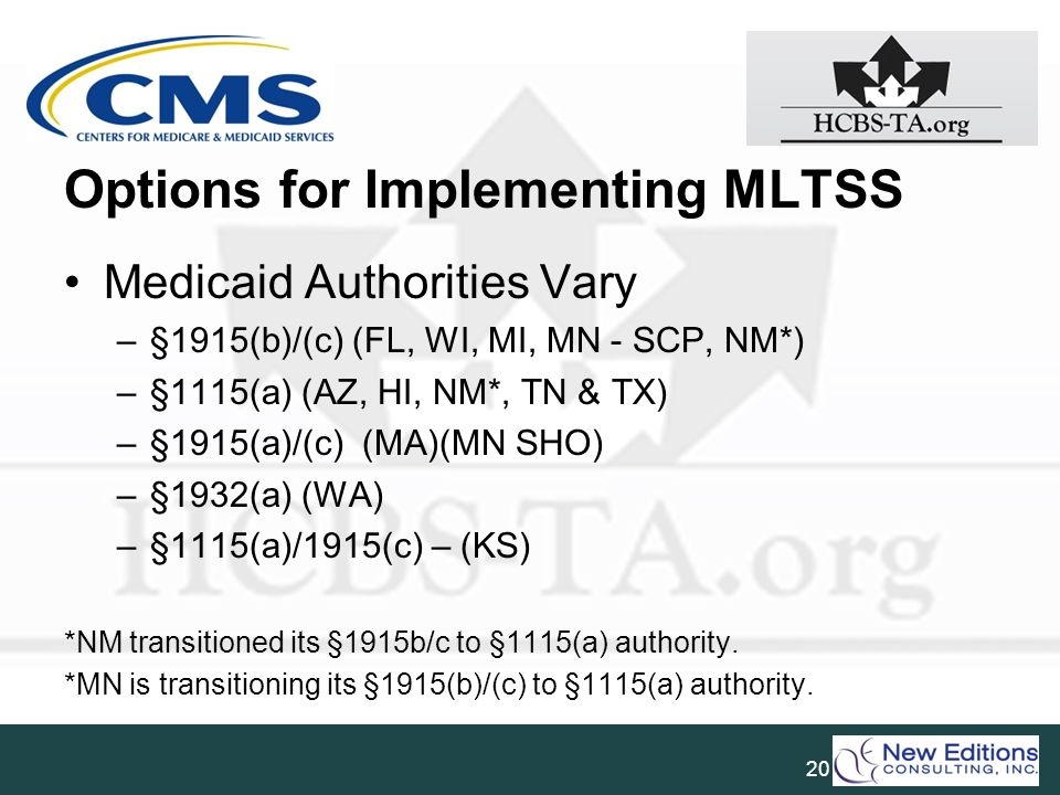 Options for Implementing MLTSS
