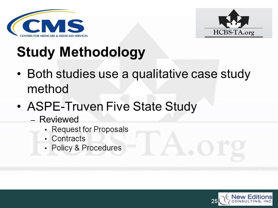 Study Methodology Both studies use a qualitative case study method