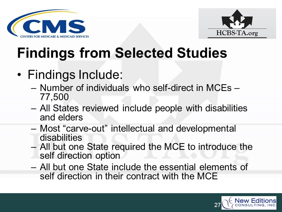 Findings from Selected Studies
