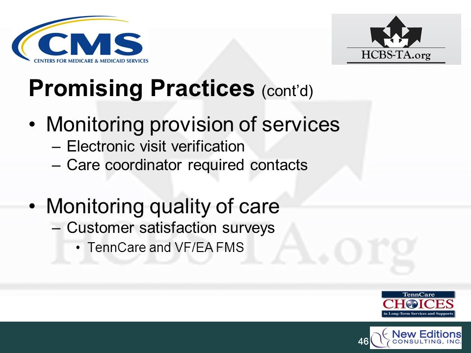 Promising Practices (cont'd)