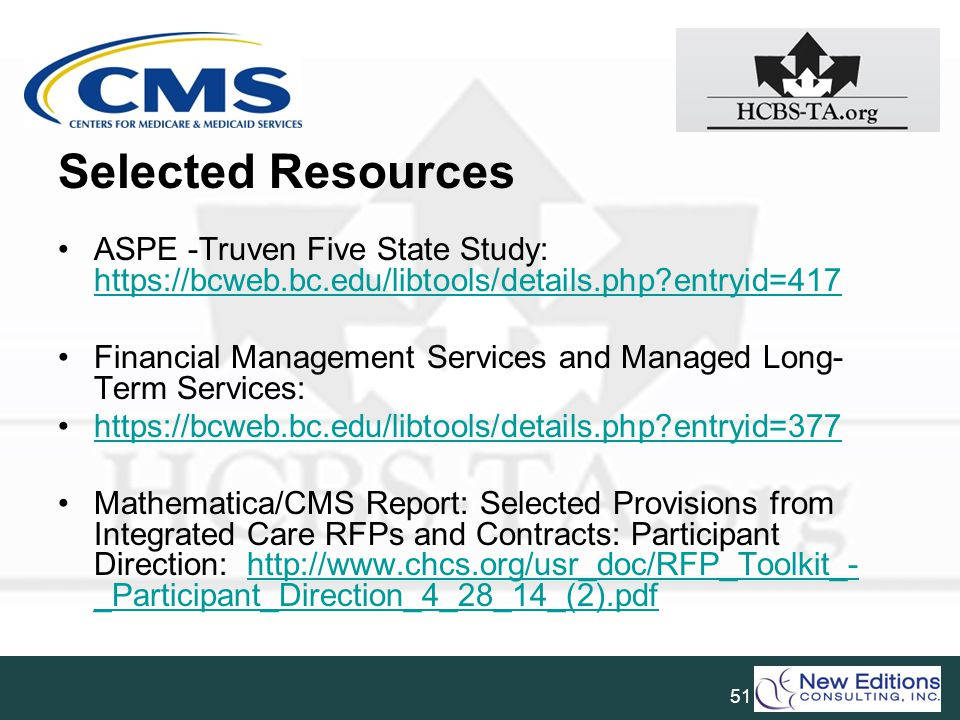 Selected Resources ASPE -Truven Five State Study: https://bcweb.bc.edu/libtools/details.php entryid=417.