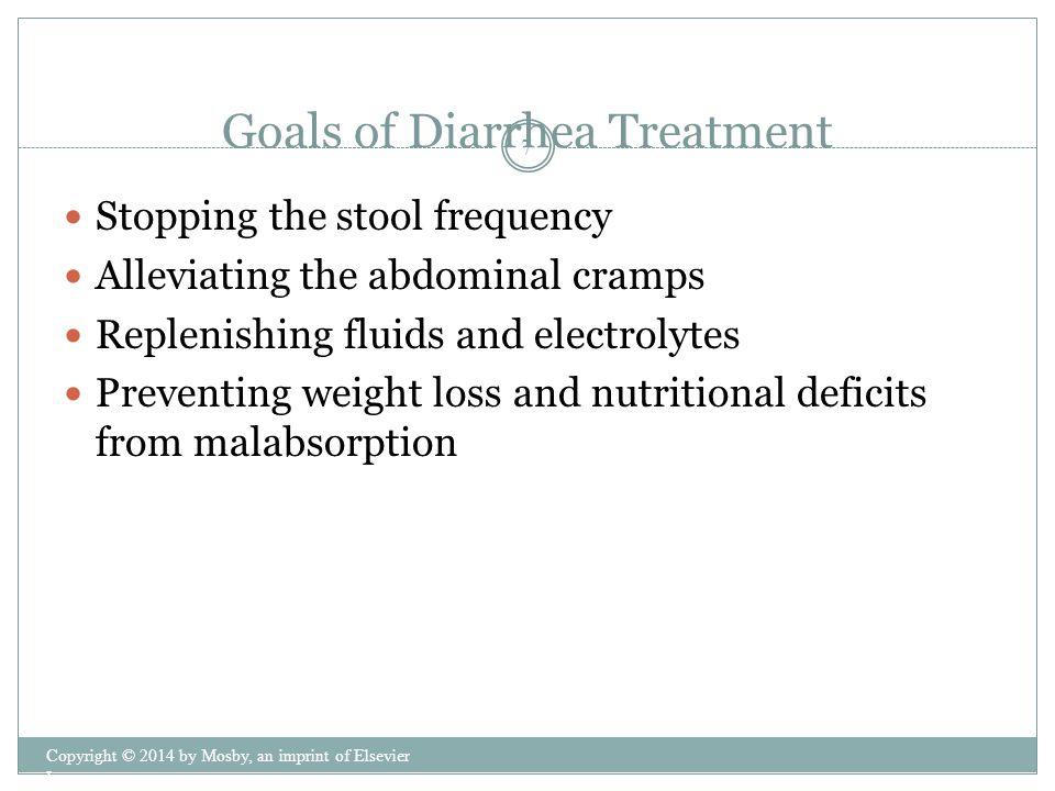 Goals of Diarrhea Treatment