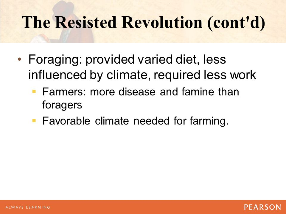 The Resisted Revolution (cont d)