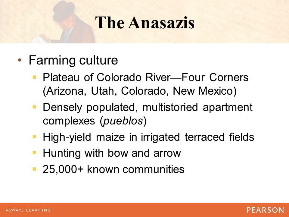 The Anasazis Farming culture