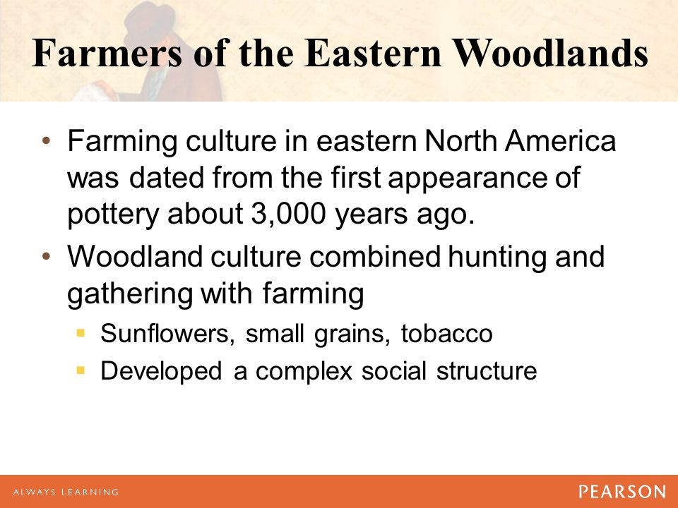 Farmers of the Eastern Woodlands