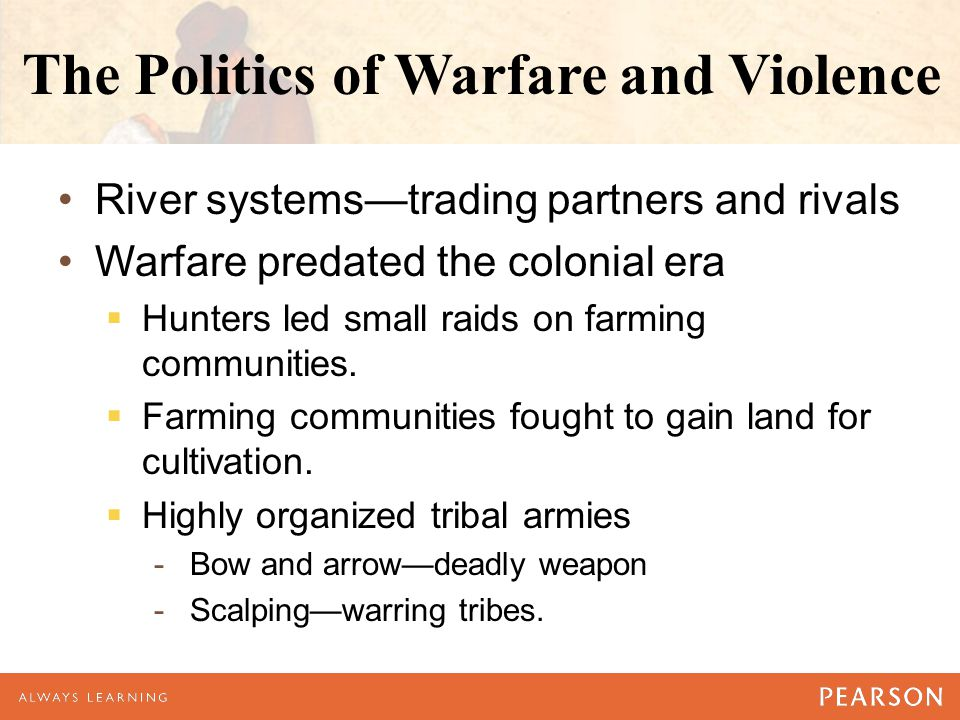 The Politics of Warfare and Violence