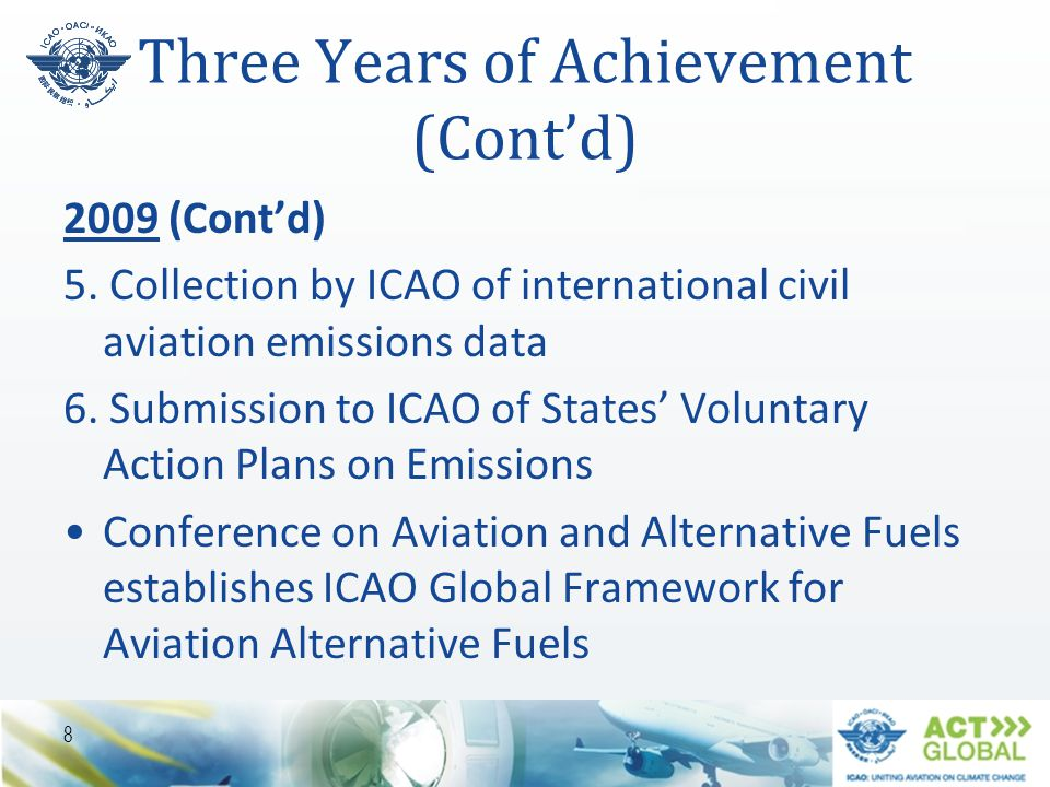 Three Years of Achievement (Cont'd)