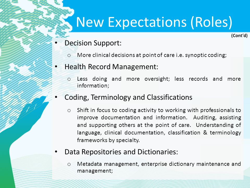 New Expectations (Roles)