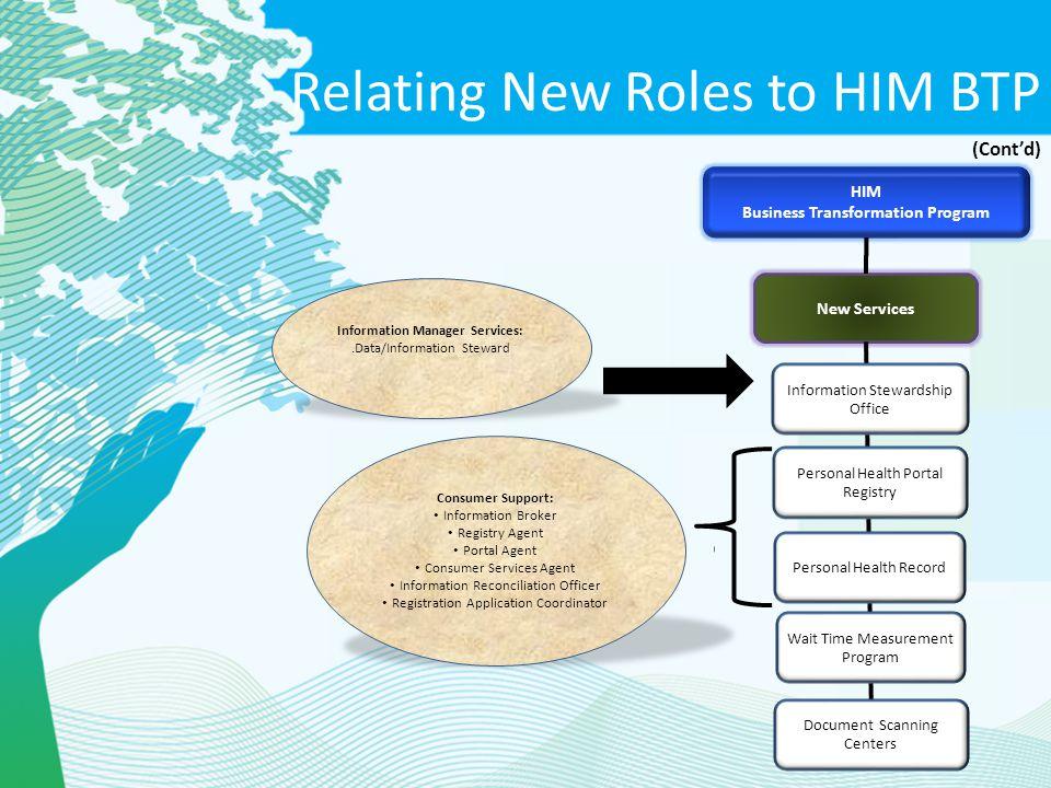 Business Transformation Program Information Manager Services: