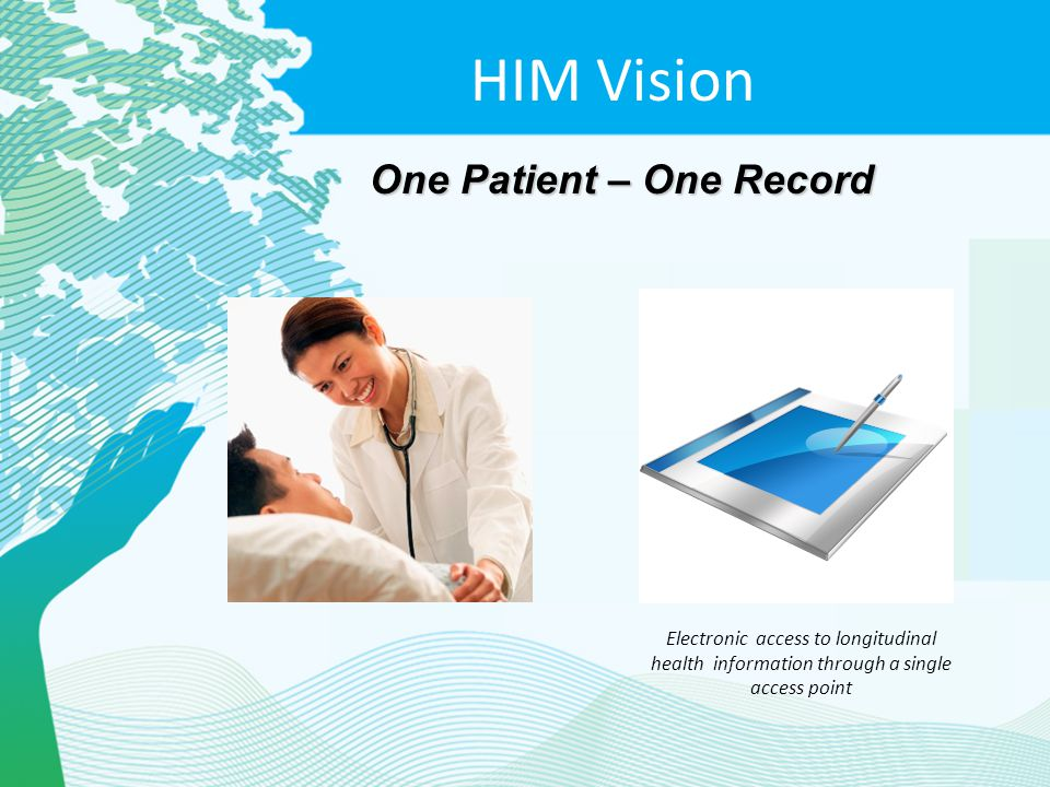 HIM Vision One Patient – One Record