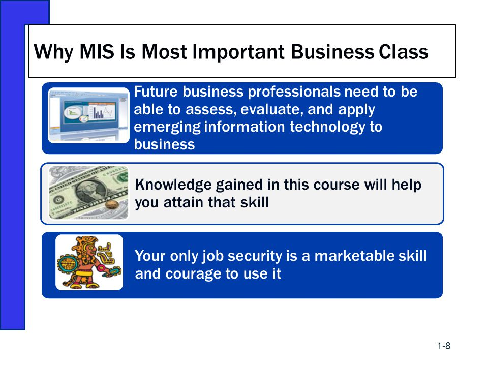Why MIS Is Most Important Business Class