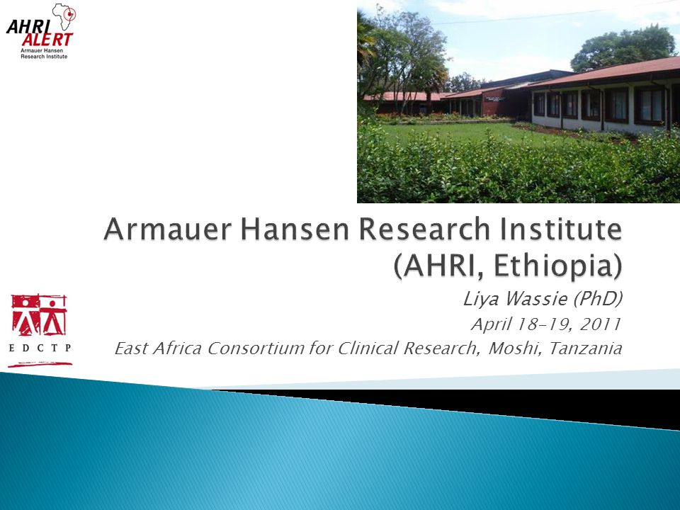 Armauer Hansen Research Institute (AHRI, Ethiopia)