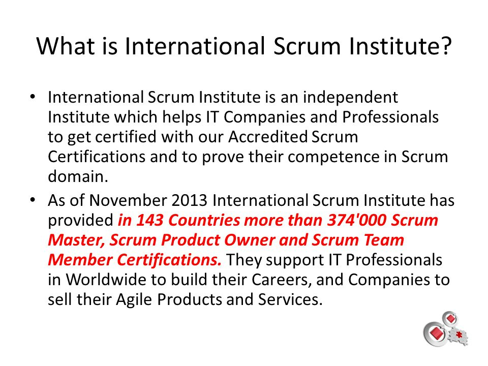 What is International Scrum Institute
