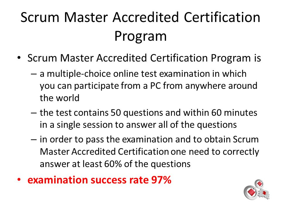 Scrum Master Accredited Certification Program