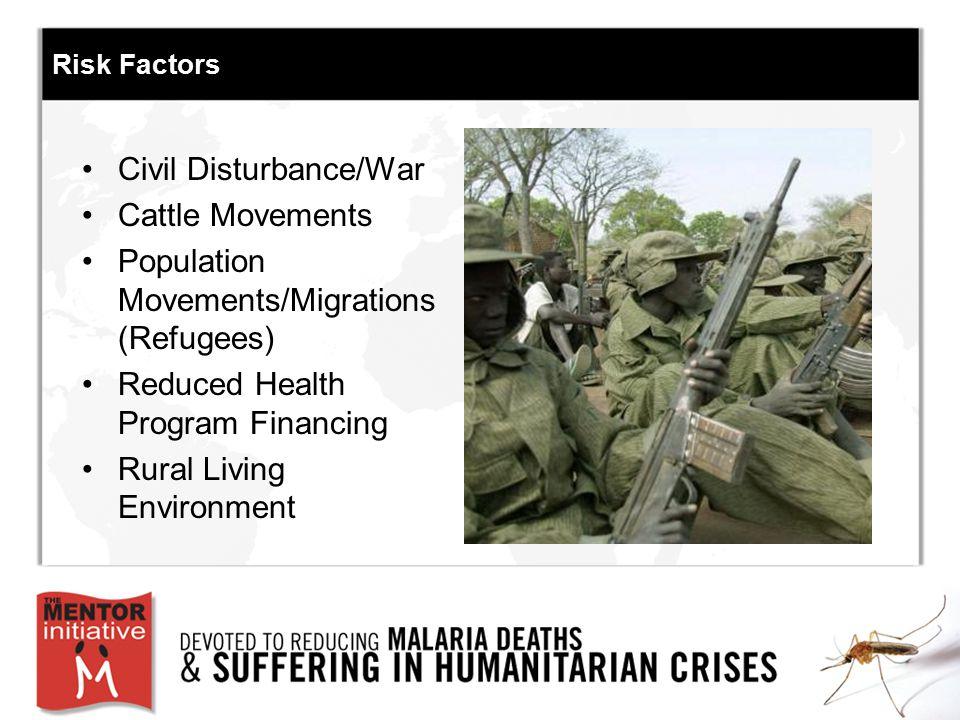 Civil Disturbance/War Cattle Movements